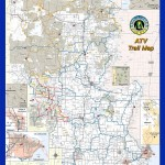 Marinette County, Wisconsin ATV Map