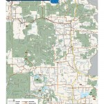 Marinette County, Wisconsin Bike / Bicycle Map
