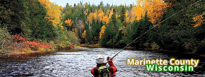 Fishing in Marinette County