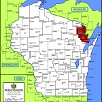 Map of Marinette County, WI,North Country Real Estate specializes in selling Marinette County WI Real Estate